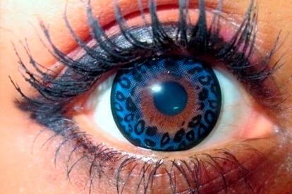 Caracterización lentillas - Con texturas animales