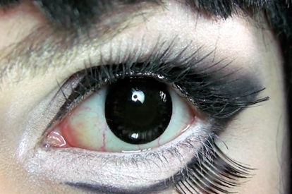 Caracterización lentillas - Personajes demoníacos - ojos negros