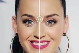 ¿Cómo es un rostro simétrico?