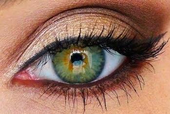 Como maquillar los ojos verdes