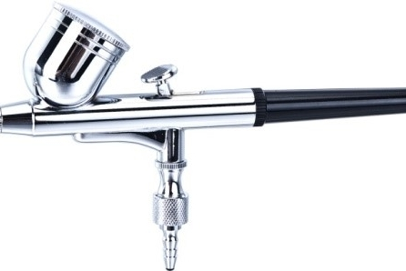 ¿Como son los equipos para maquillar con aerógrafo?