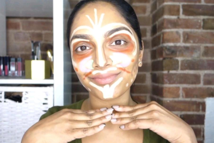 En que consiste la técnica de maquillaje efecto payaso