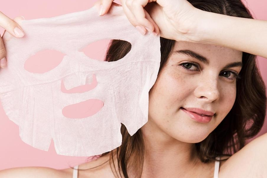 Mascarillas tienen forma de sábana o máscara hechas a base de fibra de algodón