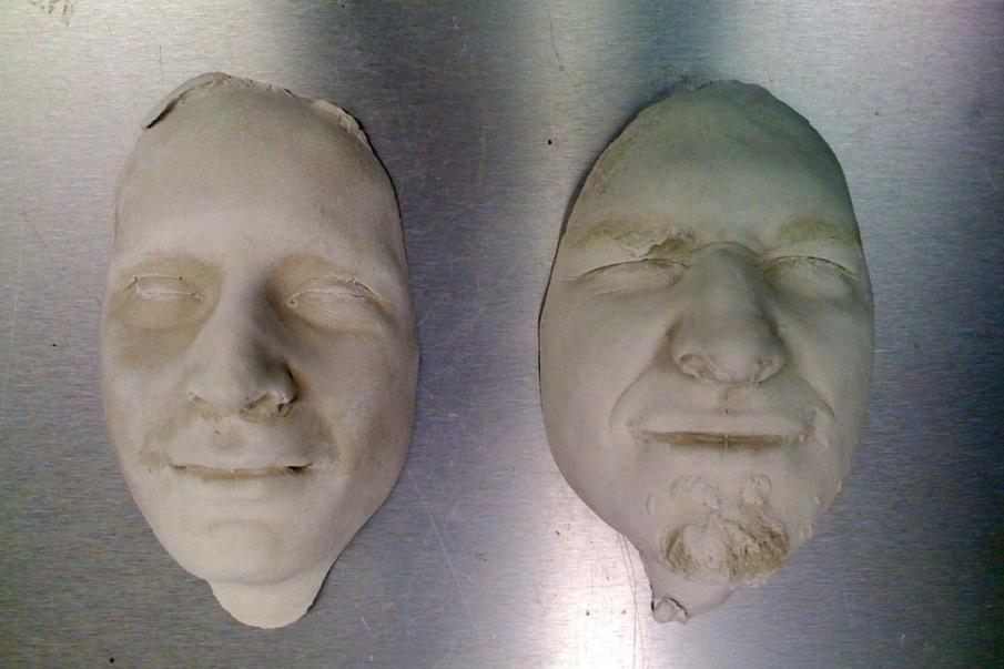 ¿Por qué hacer un molde positivo de un rostro?
