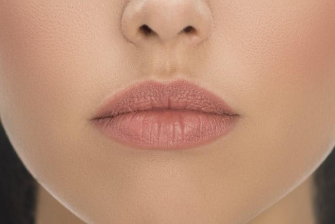 Tipos de labios - labios caídos