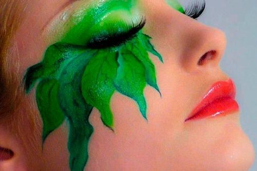 Tipos de maquillaje artístico - Flora